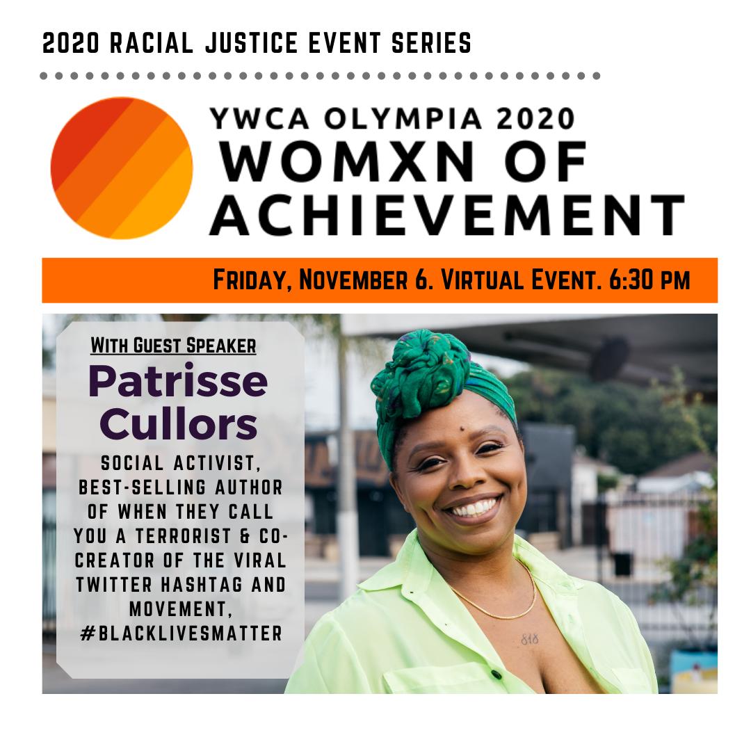 2020 Womxn of Achievement Celebration @ Online Event