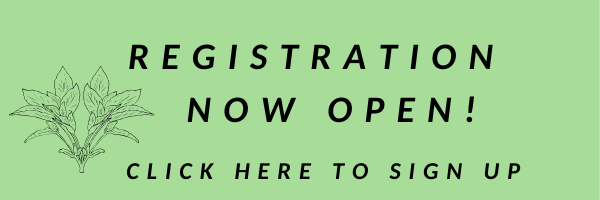 Registration Now Open! Click here to sign up.