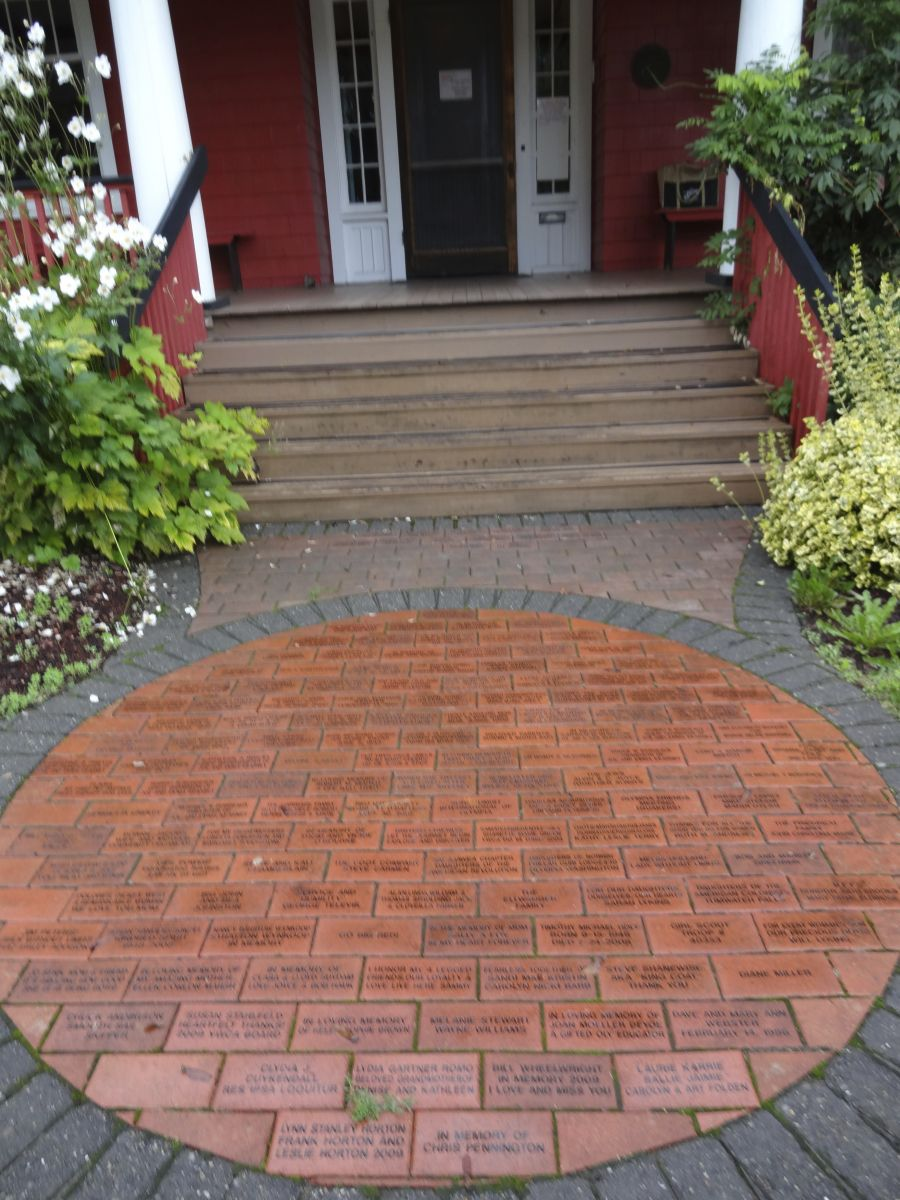 Commemorative Brick Walkway at the Kearney House