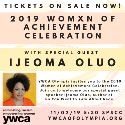 2019 Womxn of Achievement Celebration @ South Puget Sound Community College