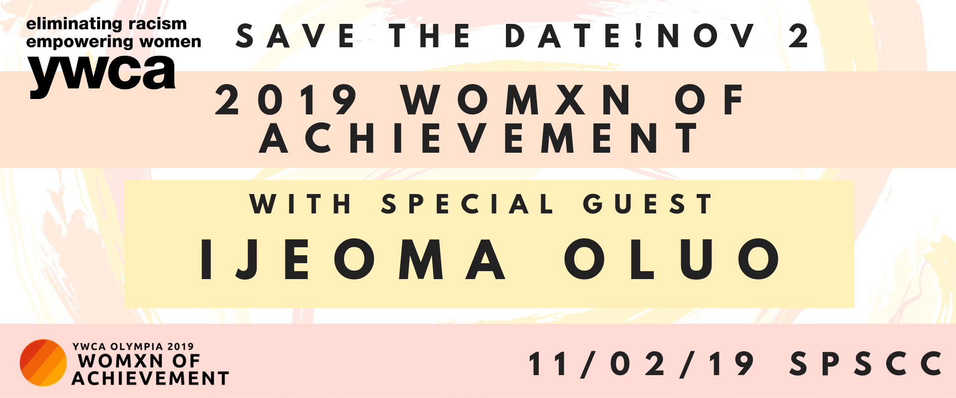 2019 Womxn of Achievement Celebration @ South Puget Sound Community College